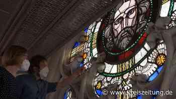 Im Dom zu Verden dem Himmel so nah - Sanierung des historischen Chorfensters - kreiszeitung.de