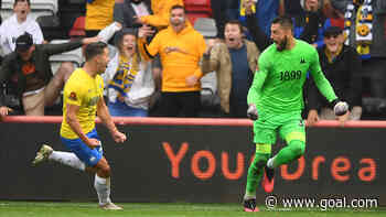 Torquay goalkeeper Lucas Covolan's last-gasp equaliser in vain as Gulls lose National League play-off final to Hartlepool