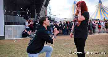 Download Festival romance 10 years ago leads to proposal at event a decade later