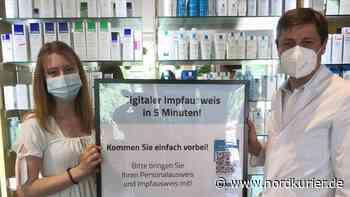 Impfnachweis: Apotheken in Templin und Prenzlau erstellen digitale Impfpässe - Nordkurier