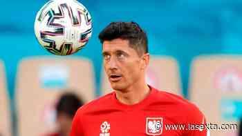 ¿Robert Lewandowski al Real Madrid? Ojo a la respuesta de su mujer a Julio Suárez antes del España - Polonia - laSexta