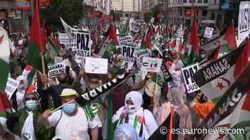 Marcha en Madrid para reclamar la libertad del Sáhara Occidental - Euronews Español