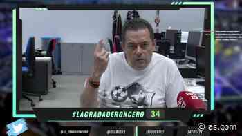 Roncero se calienta enumerando cada leyenda del Madrid que se han ido de mala manera - AS