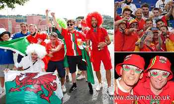 Wales gears up for Euros clash as Gareth Bale and his team take on the Italians in Rome