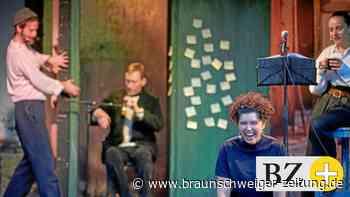 Hochpoetisches Säuferstück als Freiluftspiel in Braunschweig
