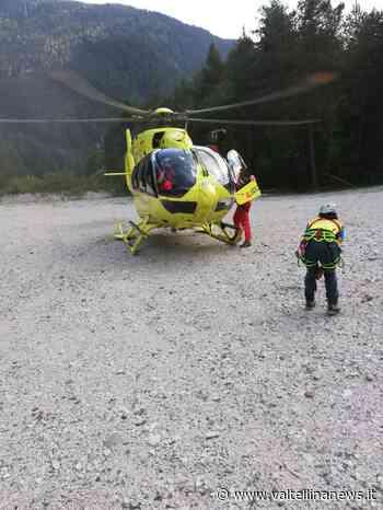 notizie da Sondrio e provincia » Valle delle streghe infortunio sulla pista downhill - Valtellina News
