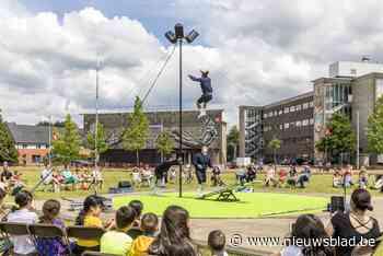 Sinjor Circo op het Santiagoplein is supercool