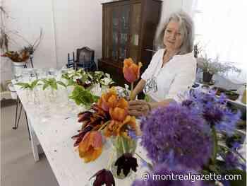 Local bouquets du quartier project flourishes in Pointe-Claire Village - Montreal Gazette