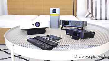 Mini-Beamer im Test: BenQ GV1, ViewSonic M2e, Nebular Solar Portable von Anker, Asus ZenBeam S2