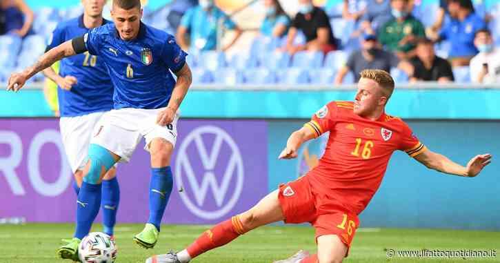 Italia-Galles 1-0, gli azzurri con l'uomo in più: entra Raspadori, primo lampo di Bale – diretta