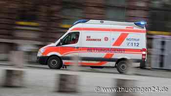 Gotha: Dramatische Szenen! Mann stürzt von Balkon - Thüringen24