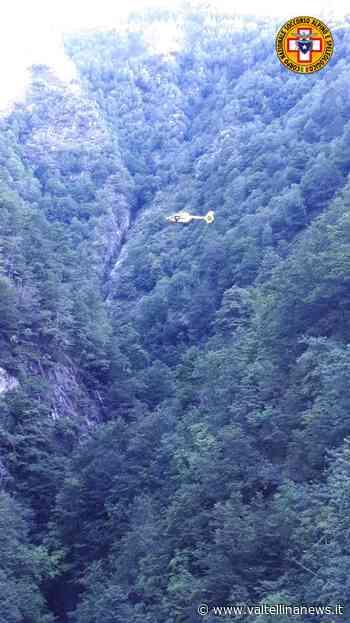 Verceia donna s'infortuna nei boschi della Valle dei Ratti - Valtellina News