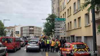 Perpignan : une collision entre une voiture et une moto fait un blessé sur le boulevard Mercader - L'Indépendant