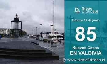 Valdivia suma 85 contagios y lamenta 4 nuevos fallecidos - Diario Futrono