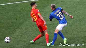 'The game's gone' - Ampadu's red card for stamp on Bernardeschi in Italy vs Wales provokes split reaction