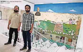 Video: Plasman en mural la historia de Guadalupe - El Diario
