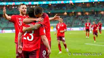 Shaqiri, Swiss beat Turkey to keep Euro hopes alive