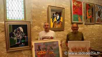 Auch. Gers : La chapelle de Sarrant accueille trois peintres reconnus - LaDepeche.fr