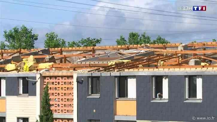 Une tornade arrache le toit d'un immeuble à Alfortville - LCI