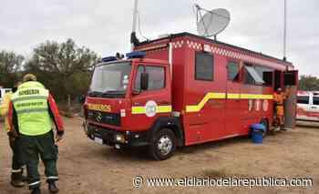 Un camión comando aporta recursos tecnológicos en la búsqueda de Guadalupe - El Diario de la República