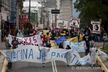 Ato contra o governo federal é realizado em Santa Maria neste sábado - Diário de Santa Maria