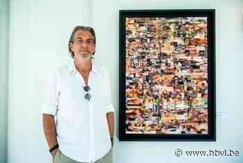 Rob Vanoudenhoven debuteert in Bree als kunstenaar met erotische collages - Het Belang van Limburg