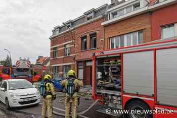 Slijpwerken veroorzaken brand in kelder: woning mogelijk tij... (Vilvoorde) - Het Nieuwsblad