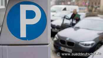 Höhere Parkgebühren: andere Städte bleiben konstant - Süddeutsche Zeitung - SZ.de