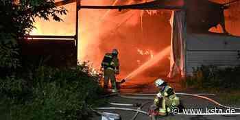 Frechen: Heulager brennt nieder – Polizei ermittelt wegen Brandstiftung - Kölner Stadt-Anzeiger