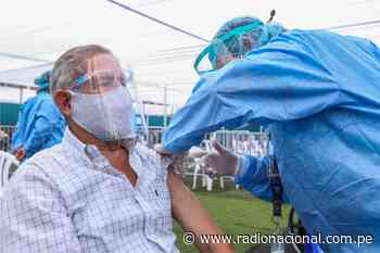Presidente Sagasti supervisará vacunación en Lambayeque   Nacional - Radio Nacional del Perú