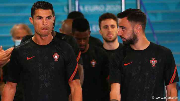 Portugal's Euro 2020 hopes hindered by Bruno Fernandes playing in Cristiano Ronaldo's shadow - ESPN