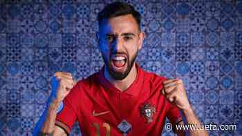 Portugal playmaker Bruno Fernandes on watching the EURO 2016 final, playing with Ronaldo and facing Germany - UEFA.com