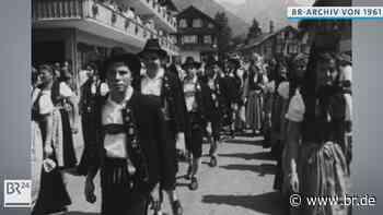 #BR24Zeitreise: Trachtenfest in Oberstdorf 1961 - BR24