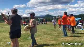 First Nations in central B.C. honour children discovered at Kamloops residential school
