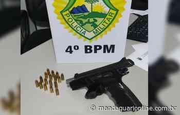 Polícia Militar de Mandaguari apreende pistola 9mm - Mandaguari Online