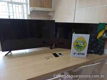 Polícia Militar recupera objetos furtados de residência em Mandaguari - Mandaguari Online