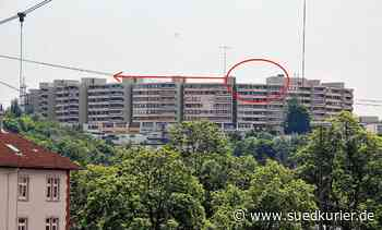 Villingen-Schwenningen: Kleinkind unternimmt lebensgefährlichen Ausflug aufs Dach eines Hochhauses - SÜDKURIER Online