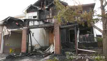 Early morning fire rips through southeast Calgary duplex - CTV Toronto