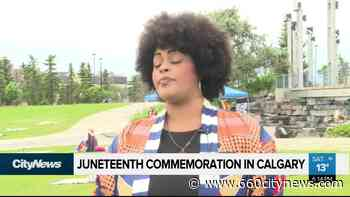 Juneteenth celebrated in Calgary with solemn event - 660 News