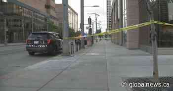 Stabbing near Calgary CTrain station leaves victim seriously injured - Global News