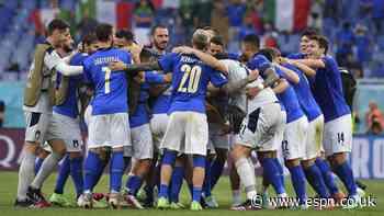 Perfect Italy are having fun at Euro 2020