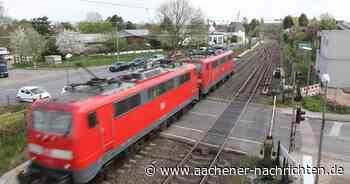 Sanierungsarbeiten: Eschweiler erhält Lärmschutz entlang der Bahngleise - Aachener Nachrichten