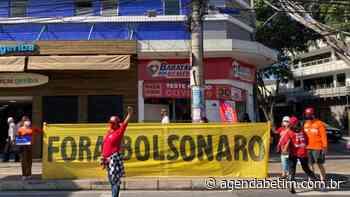 Manifestantes vão às ruas do centro de Betim contra Bolsonaro e a favor da vacina - Agenda Betim