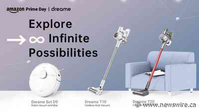 Dreame Technology присоединяется к акции Amazon Prime Day 2021