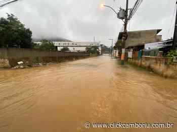 Chuvas: moradores do Jardim Europa e do Monte Alegre devem ficar atentos - Click Camboriú