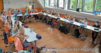 Nikolaus-Groß-Schulen in Lebach freut sich über Wegfall der Masken - Saarbrücker Zeitung