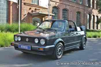 VW Golf 07/1989 für 19700€ zu verkaufen - Motor Klassik