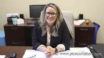 Lindsay Ward shares her goals with Exchange Club of Picayune - Picayune Item - Picayune Item