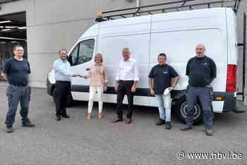 Electrische bestelwagen voor stad Tongeren (Tongeren) - Het Belang van Limburg Mobile - Het Belang van Limburg