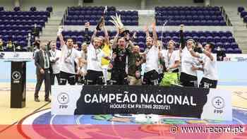 Sporting derrota FC Porto e sagra-se campeão nacional de hóquei em patins - Record